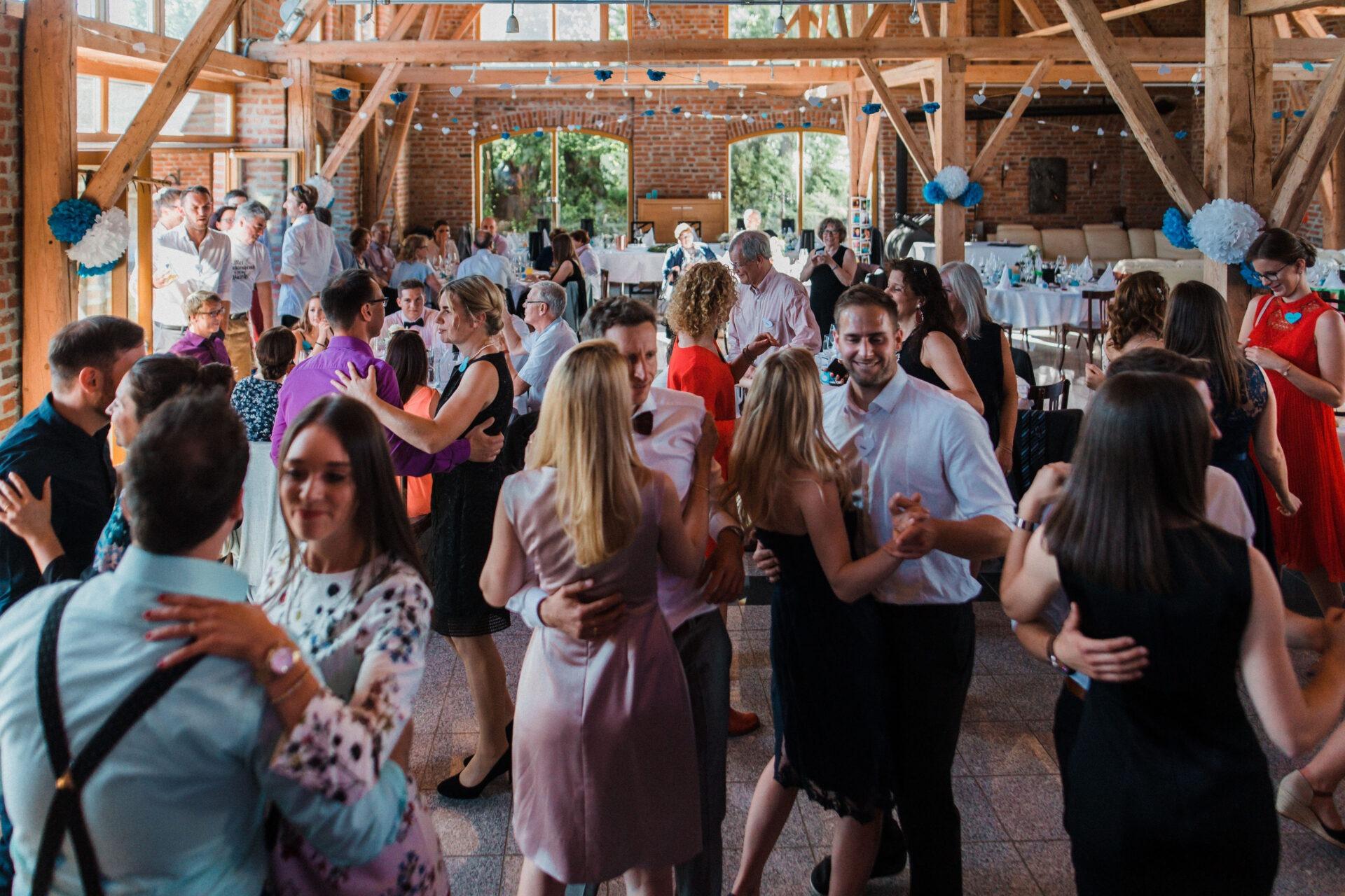Paartanz auf einer Hochzeit